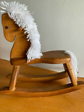 Vintage Wooden Toy Collectible Rocking horse