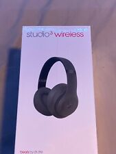 Beats Studio3 Wireless Over‑Ear Headphones - Matte Black (Brand New)