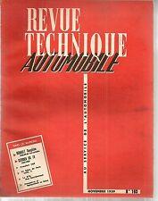 REVUE TECHNIQUE AUTOMOBILE 163 RTA 1959 EVO DAUPHINE 1958 60 EVO DS 19 1958 60
