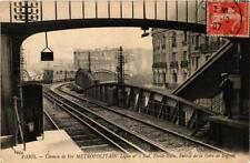 CPA PARIS Chemin de Fer Métropolitain. Ligne No. 2. Gare de Suffren (676304)