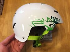 Kali Raja Jungle Bicycle / Skate Helmet - S / XS Small Extra Small - White