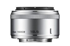 Nikon 1 Nikkor 18,5 mm 1:1,8 Objectif Argent Neuf dans sa boîte (pour j5 j4 v3, etc.)