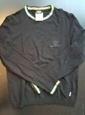VERSACE Jeans Couture ITALY Vintage black crewneck size small
