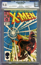 X-Men #221 CGC 9.8 NM/MT WHITE Pages Universal CGC #0251261029