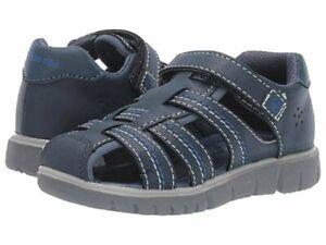NIB STRIDE RITE Shoes Sandals Wallace Navy Blue Unisex 9 10 11 12 M