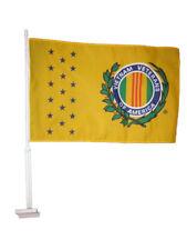 "12x18 Wholesale Lot 12 Vietnam Veterans Vet of America Car Vehicle 12""x18"" Flag"