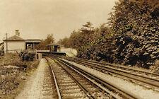 Eden Park Railway Station Photo. Elmers End - West Wickham. Hayes Line. (2)