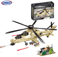 Xingbao Toys Gifts Military World War Wz10 Construction Kits Model Helicopter