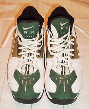 Nike Air Zoom size 13 Alpha Project White Green High tops