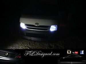 Toyota Hiace 2005- 2015 Bright White L.E.D Parker Light Bulbs