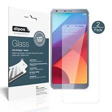2x LG G6 Plus Protector de Pantalla Vidrio Flexible Cristal Proteccion 9H dipos