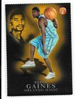 03 04 Topps Pristine Reece Gaines Gold Refractor Die Cut Parallel #d /99 BV $24
