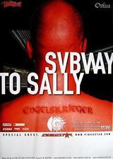"""Subway to Sally TOUR POSTER/MANIFESTO CONCERTO """"ANGELO GUERRIERO Tour 2003"""""""