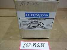 1986 Honda Accord Fog Light Adapter Kit # 0810-SE00001EG (NOS)
