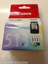 Genuine Canon CL-513 Colour, Original Canon CL513 High Capacity printer Ink