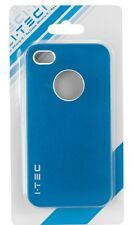 IPhone 4S case,  IPhone 4 case, case for I Phone 4S & I Phone 4 I.TEC Blue color