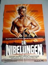 DIE NIBELUNGEN 1. TEIL * UWE BEYER  A1-Kinoposter - German 1-Sheet Poster  R1976