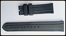 TUDOR 20mm  Black Rubber Watch Strap Band