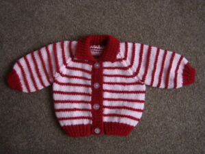 "PINKJ JACKET, BOBBLE HAT, 18"" CHEST NEW BORN BABY"
