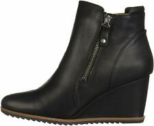 SOUL Naturalizer Women's Haley Ankle Boot, Black Smooth, Size 8.0 IUDm