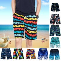 US Men's Boardshorts Surf Beach Shorts Swimwear Trunk Pants HJ