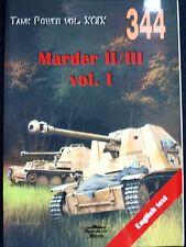 MILITARIA 344, MARDER II/III   BY JANUSZ LEDWOCH