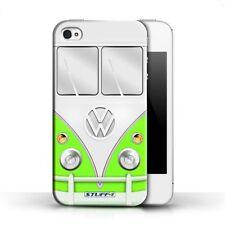 Housses et coques anti-chocs verts iPhone 4 pour téléphone mobile et assistant personnel (PDA)