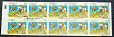 Australia Booklet Sc 1109B 10/41¢ Cycling~1989~Mint Never Hinged/Og Vfine