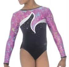 ZONE ORCHID LONG SLEEVE LEOTARD    AGE 15+     SIZE 36