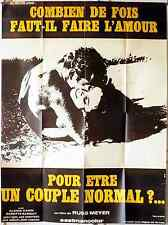 COMMON LAW CABIN French Grande movie poster 47x63 RUSS MEYER 1967