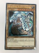 YSKR-EN001 Blue-Eyes White Dragon Ultimate Rare Unlimited Edition Yu-Gi-Oh