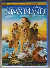 Nim's Island Fullscreen DVD ( Walden Media 2008 )