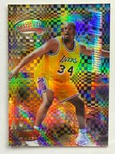 SHAQ 1997-98 Bowman's Best Cuts ATOMIC REFRACTOR SHAQUILLE O'NEAL #BC10 Lakers
