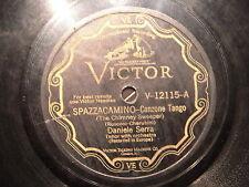 78 GIRI victor TENORE DANIELE SERRA Canta SPAZZACAMINO & MADONNA BRUNA (raro)