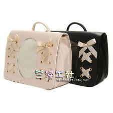 Japanese Dolls Show Transparent Clear Color Shoulder Bag Handbag Itabag LOLITA