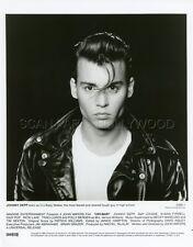 JOHNNY DEPP JOHN WATERS CRY-BABY 1990 VINTAGE PHOTO ORIGINAL #9 GREG GORMAN