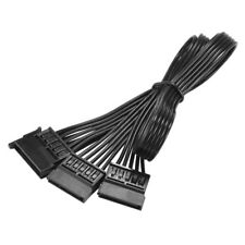 15Pin SATA Male to 2 SATA Female Hard Disk Power Extend Splitter Y Cable AC1309