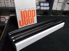 CJ laredo, CJ window seals, CJ window belt kit for 1982-1986 model CJs