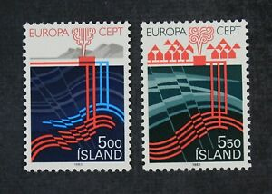 CKStamps: Iceland Stamps Collection Scott#573 574 Mint NH OG