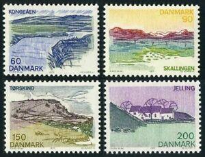 Denmark 602-605,MNH.Michel 641-644. Landscapes of Southern Jutland,1977.