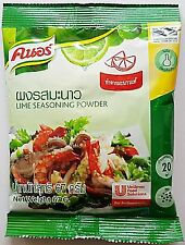 3 Packets of Knorr Instant Lime Juice Powder 67g. Per Pack : Thai Food.