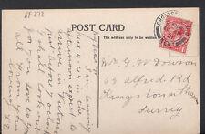 Genealogy Postcard - Dowson or Dawson - 63 Alfred Road, Kingston-On-Thames RF272