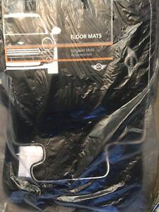 Mini Floor Mats for Auto 4pc Carpet Semi Custom Fit Heavy Duty w/Heel Pad Mini