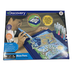 Discovery Blow Pens Airbrush Artist Set 4+ New