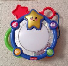 Fisher Price Sparkling Symphony Classic Chorus Drum - 1265, WORKS!!!