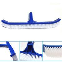 18inch Swimming Pool Spa Algae Plastic Brush Duty Broom Cleaner Curved Tools