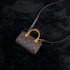 Louis Vuitton Monogram Mini Nano HL Speedy
