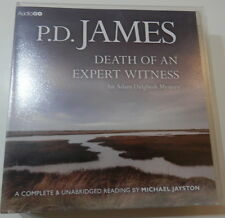 P.D. JAMES DEATH OF AN EXPERT WITNESS 8 X CD'S READ BY MICHAEL JAYSTON