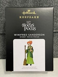 Hallmark Keepsake 2021 Disney Hocus Pocus Winifred Sanderson Halloween Ornament