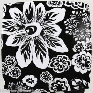 MISSONI x Target 'Familia Flowers' Black & White Melamine Salad Plate 9x9 in NEW